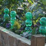 Garden Innovations Aqua balance Plante d'arrosage Pointes et globes avec temps/température contrôlée (lot de 4), jardin, Vert, 1.25litre de la marque Garden Innovations image 4 produit