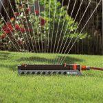 Gardena 01975-20 Comfort - 350/2 Arroseur oscillant Aquazoom Gris/Orange Plastique 30 x 20 x 20 cm de la marque Gardena image 1 produit