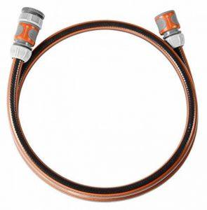 Gardena 18040-20 Comfort FLEX 1/2 Equipement de raccordement Gris/Orange Plastique Diametre 13 mm longueur 1,5 metre de la marque Gardena image 0 produit