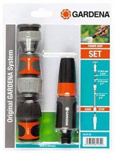 Gardena 1829620 Nécessaire de base pour robinet 20/27, Noir, 19 mm de la marque Gardena image 0 produit