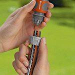 Gardena 2 raccords d'arrosage rapides 13 mm (1/2) et 15 mm (5/8) raccords pour le début du tuyau, raccordement rapide et facile (18281-20) de la marque Gardena image 1 produit