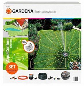Gardena 2708-20 Kit complet avec arroseur escamotable multi-surfaces AquaContour automatic de la marque Marque : Gardena image 0 produit