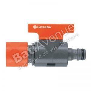 Gardena 297726 Régulateur de débit d'arrosage, Noir de la marque Gardena image 0 produit