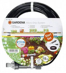 """Gardena 870784 Set arrosage goutte à goutte 0,5 cm (0,1875"""") de la marque Gardena image 0 produit"""