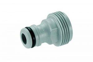 Gardena 92126 Adaptateur pour accessoires avec filetage int. 20/27, Noir de la marque Gardena image 0 produit