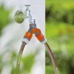 Gardena 938-20 Sélecteur d'arrosage sur robinet 2 circuits filetage, Noir, 26,5 mm de la marque Gardena image 2 produit