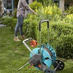 Gardena Chariot dévidoir, turquoise, 43x 38x 73cm de la marque Gardena image 4 produit