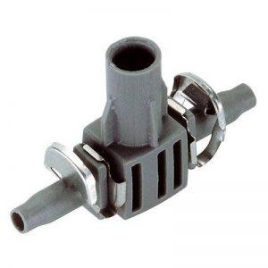 Gardena Dérivation en T pour Buse de pulvérisation Micro-Drip-System Noir/Argent 35 x 20 x 19 cm 08332-20 de la marque Gardena image 0 produit