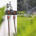 Gardena Distributeur 2 voies possibilité de raccorder 2 appareils au robinet, convient pour les programmateurs et minuteries d'arrosage, débit d'eau réglable et verrouillable (8193-20) de la marque Gardena image 1 produit