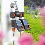 Gardena Distributeur 2 voies possibilité de raccorder 2 appareils au robinet, convient pour les programmateurs et minuteries d'arrosage, débit d'eau réglable et verrouillable (8193-20) de la marque Gardena image 2 produit