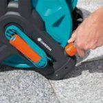 Gardena Dévidoir Classic 50: dévidoir pour tuyau d'arrosage max. 50 m (tuyau de 13 mm), construction compacte, avec raccord anti-goutte, raccord de tuyau coudé (8007-20) de la marque Gardena image 3 produit