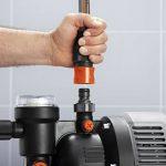 GARDENA Groupe de surpression 3000/4 eco Classic: pompe à eau domestique avec protection thermique, clapet anti-retour, démarrage/arrêt automatique, puissance 650W, débit max. 2800 l/h (1753-20) de la marque Gardena image 1 produit