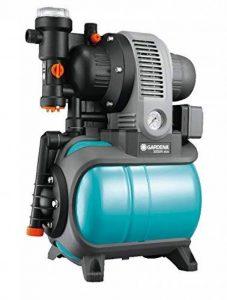 GARDENA Groupe de surpression 3000/4 eco Classic: pompe à eau domestique avec protection thermique, clapet anti-retour, démarrage/arrêt automatique, puissance 650W, débit max. 2800 l/h (1753-20) de la marque Gardena image 0 produit