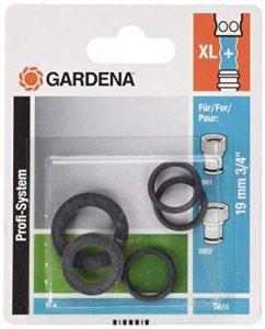 Gardena Jeu de joint Profi-System Noir 30 x 20 x 20 cm 02824-20 de la marque Gardena image 0 produit