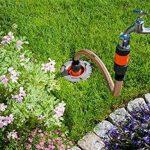Gardena Kit de raccordement complet accessoires permettant de raccorder la tuyauterie et le système de gicleurs au robinet pour des débits plus élevés et moins de pertes de pression (1505-23) de la marque Gardena image 1 produit