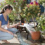 Gardena Kit flexible d'arrosage 10 m - Jardin urbain: tuyau spiralé, idéal pour balcon/terrasse/cour, aucun enroulement/déroulement, se rétracte automatiquement, lance incluse (18424-20) de la marque Gardena image 4 produit