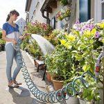 Gardena Kit flexible d'arrosage 10 m - Jardin urbain: tuyau spiralé, idéal pour balcon/terrasse/cour, aucun enroulement/déroulement, se rétracte automatiquement, lance incluse (18424-20) de la marque Gardena image 2 produit