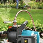 GARDENA Kit pompe d'arrosage de surface 3500/4 Classic: pompe d'arrosage avec débit de 3600 l/h, puissante, silencieuse et sans entretien, longue durée de vie, avec vis de vidange (1719-20) de la marque Gardena image 1 produit