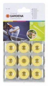 Gardena Kit shampooing pour voitures et sols bagues de nettoyage circulaires pour un nettoyage en douceur des surfaces peintes (1680-20) de la marque Gardena image 0 produit
