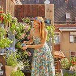 Gardena NatureUp! Kit de base vertical: mur végétal pour la végétalisation verticale de balcons/terrasses/cours intérieures, kit de base de 9 plantes, résistant aux intempéries (13150-20) de la marque Gardena image 1 produit