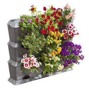 Gardena NatureUp! Kit de base vertical: mur végétal pour la végétalisation verticale de balcons/terrasses/cours intérieures, kit de base de 9 plantes, résistant aux intempéries (13150-20) de la marque Gardena image 0 produit