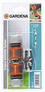 Gardena Nécessaires d'arrosage raccords pour extension de tuyau 13 mm (1/2) et 15 mm (5/8), même avec une pression d'eau élevée (18283-20) de la marque Gardena image 0 produit