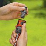 Gardena Nécessaires d'arrosage raccords pour extension de tuyau 13 mm (1/2) et 15 mm (5/8), même avec une pression d'eau élevée (18283-20) de la marque Gardena image 1 produit