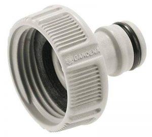 """Gardena Nez de robinet 33.3 mm (G 1"""") raccord pour robinets avec filetage, raccordement étanche, manipulation facile, emballé (18202-20) de la marque Gardena image 0 produit"""
