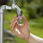 """Gardena Nez de robinet 33.3 mm (G 1"""") raccord pour robinets avec filetage, raccordement étanche, manipulation facile, emballé (18202-20) de la marque Gardena image 2 produit"""