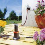 GARDENA Pluviomètre électronique: le capteur de précipitations permet de tenir compte de la pluie dans la programmation de l'arrosage, mesures 24 heures sur 24, économe en eau et écologique (1189-20) de la marque Gardena image 1 produit