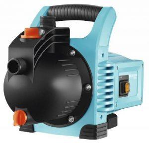 GARDENA Pompe d'arrosage de surface 3000/4 Classic : pompe d'arrosage, débit de 3100 l/h, silencieuse et durable, avec bouchon de vidange d'eau, puissance d'aspiration élevée (1707-20) de la marque Gardena image 0 produit