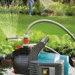 GARDENA Pompe d'arrosage de surface 3500/4 Classic: pompe d'arrosage pour usage extérieur, avec débit de 3600 l/h, moteur de 800 W, vis de vidange, sans entretien, double étanchéité (1709-20) de la marque Gardena image 1 produit