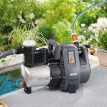 GARDENA Pompe d'arrosage de surface 6000/6 inox Premium: pompe d'arrosage durable, pour une utilisation en extérieur avec débit de 6000 l/h, boîtier inox, protection thermique (1736-20) de la marque Gardena image 3 produit
