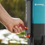GARDENA Pompe d'évacuation pour eaux chargées aquasensor 13000 Comfort: pompe immergée, débit 13000 l/h, fonctionnement automatique, moteur silencieux et sans entretien, raccord universel (1799-20) de la marque Gardena image 3 produit
