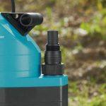 GARDENA Pompe d'évacuation pour eaux chargées aquasensor 8500 Comfort: pompe immergée, débit 8300 l/h, moteur 380 W à protection thermique, profondeur max. 7 m, interrupteur à flotteur (1797-20) de la marque Gardena image 3 produit