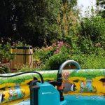 GARDENA Pompe d'évacuation pour eaux claires aquasensor 13000 Comfort: pompe d'assèchement, débit de 13 000 l/h, avec capteur, technologie longue durée, sans entretien, raccord universel (1785-20) de la marque Gardena image 4 produit