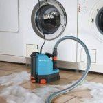 GARDENA Pompe d'évacuation pour eaux claires aquasensor 9000 Comfort: pompe d'assèchement, technologie de capteur et débit de 9000 l/h, pompe durable et sûre, sans entretien (1783-20) de la marque Gardena image 1 produit
