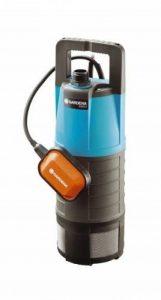 GARDENAPompe immergée pour arrosage 6000/4 Classic : pompe immergée puissante, débit de 6000 l/h, en acier inoxydable, protection contre la marche à sec, câble de fixation (1468-20) de la marque Gardena image 0 produit