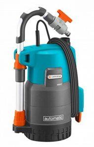 GARDENA Pompe pour collecteur d'eau de pluie 4000/2 automatic Comfort: pompe immergée, débit élevé 4000 l/h, puissante avec fonction automatique, tube télescopique réglable (1742-20) de la marque Gardena image 0 produit