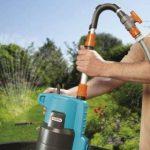 GARDENA Pompe pour collecteur d'eau de pluie 4000/2 automatic Comfort: pompe immergée, débit élevé 4000 l/h, puissante avec fonction automatique, tube télescopique réglable (1742-20) de la marque Gardena image 1 produit