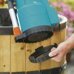 Gardena Pompe pour collecteur d'eau de pluie 4000/2 Classic : pompe immergée, protection contre la marche à sec, débit max. 4000 l/h, temps d'aspiration courts, entraînement à 2 niveaux (1740-20) de la marque Gardena image 3 produit