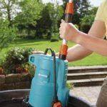 Gardena Pompe pour collecteur d'eau de pluie 4000/2 Classic : pompe immergée, protection contre la marche à sec, débit max. 4000 l/h, temps d'aspiration courts, entraînement à 2 niveaux (1740-20) de la marque Gardena image 1 produit