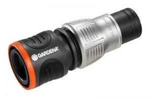 Gardena Premium 1/2-5/8, Fourni Raccord Aquastop, Noir, 10 x 3.5 x 3.5 cm de la marque Gardena image 0 produit