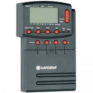 Gardena Programmateur 4040 modulable de GARDENA : programmateur d'arrosage réglable individuellement pour commander jusqu'à 4 vannes, 12 V (1276-20) de la marque Gardena image 0 produit