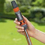 Gardena Raccord d'arrosage Aquastop 19 mm (3/4) connecteur enfichable avec Aquastop, pour extrémité de tuyau, Powergrip, emballé (18214-20) de la marque Gardena image 3 produit
