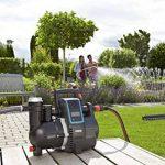 GARDENA smart Pressure Pump : station de pompage, contrôlable via app, débit 5000 l/h, sans entretien, pré-filtre intégré, hauteur d'aspiration max. 8 m, protection contre la marche à sec (19080-20) de la marque Gardena image 4 produit
