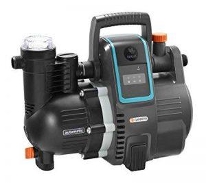 GARDENA smart Pressure Pump : station de pompage, contrôlable via app, débit 5000 l/h, sans entretien, pré-filtre intégré, hauteur d'aspiration max. 8 m, protection contre la marche à sec (19080-20) de la marque Gardena image 0 produit