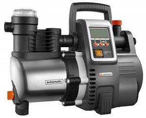 Gardena Station de pompage 6000/6E LCD Inox Premium : pompe domestique, débit de 6 000 l/h, moteur de 1 300 W, affichage LC, corps en acier inoxydable de qualité (1760-20) de la marque Gardena image 0 produit