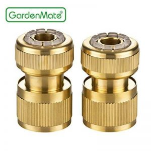 'GardenMate® 13mm (1/2) laiton Raccord tuyau tuyau et Set Stop Eau de la marque GardenMate image 0 produit