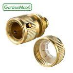 'GardenMate® 13mm (1/2) laiton Raccord tuyau tuyau et Set Stop Eau de la marque GardenMate image 3 produit